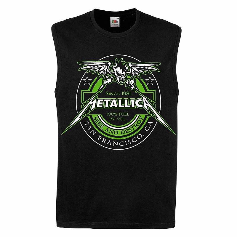 ebb75e582e77 Metallica tričko bez rukávů