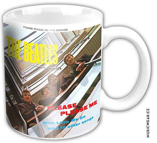 The Beatles keramický hrnek 250ml, Please Please Me Album