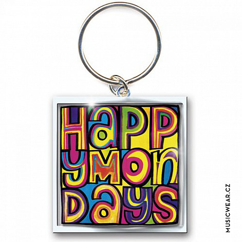 Happy Mondays klíčenka, Dayglo Logo