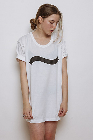 Lake Malawi T-Shirt, One Wave White, unisex