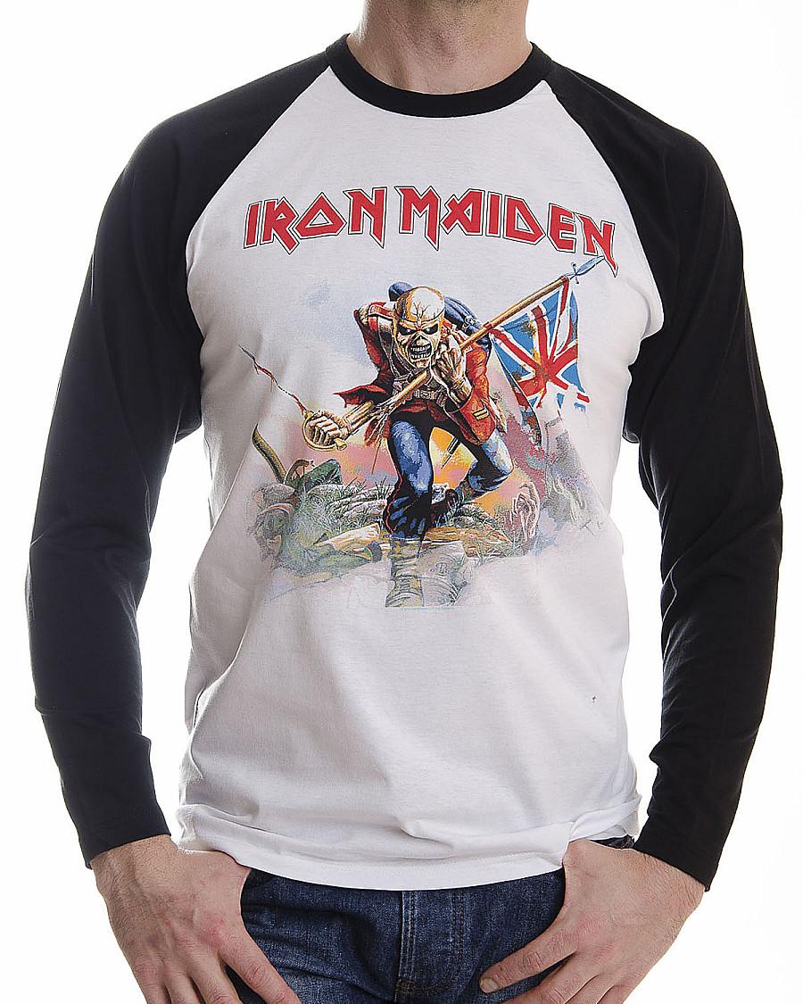 9d0ace02ad Iron Maiden tričko dlouhý rukáv