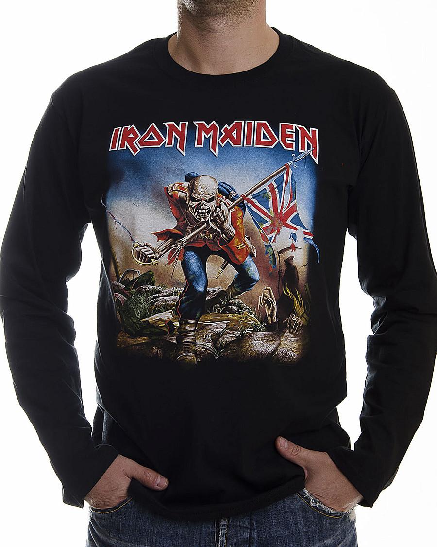 Iron Maiden tričko dlouhý rukáv e8a9fd574ec