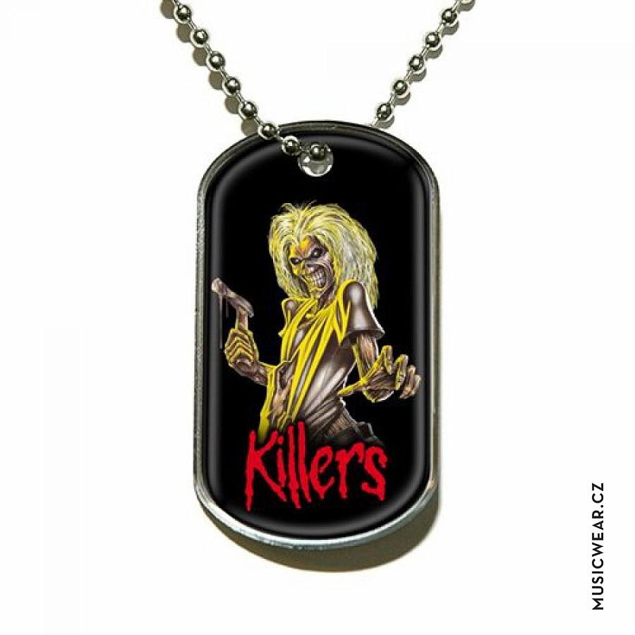 Iron Maiden psí známka 46a81d1ea2e