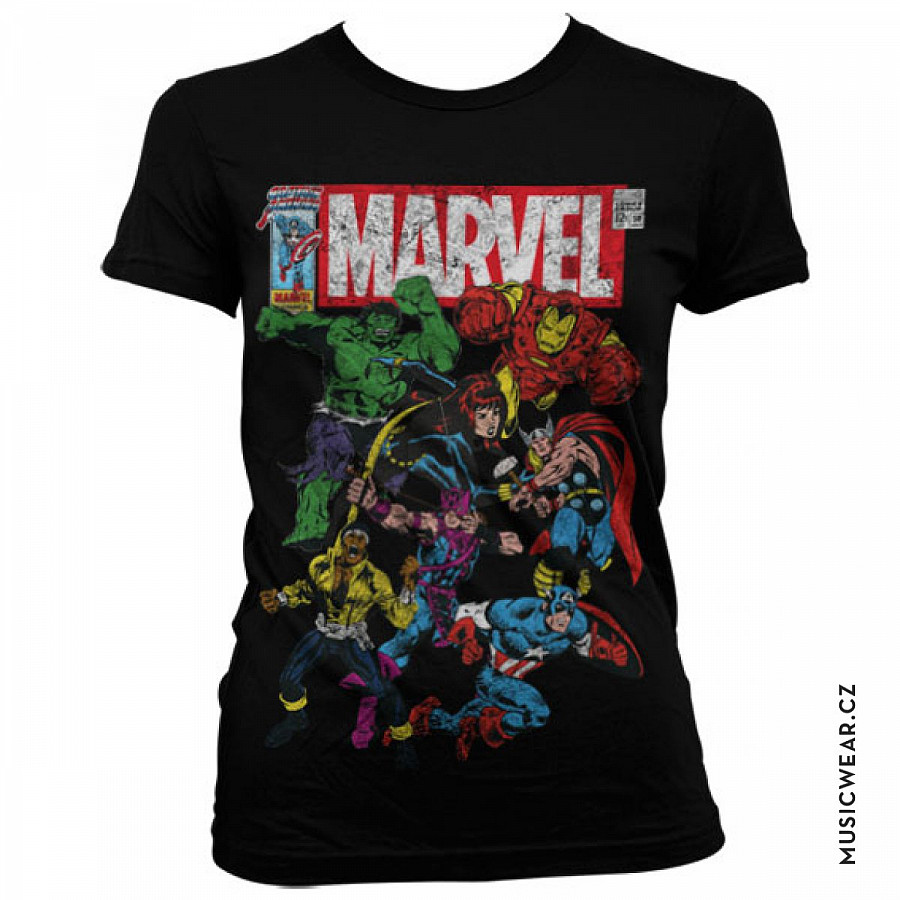 Marvel Comics tričko 064d0904cb