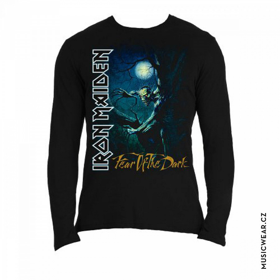 Iron Maiden tričko dlouhý rukáv 9c72ac023fe