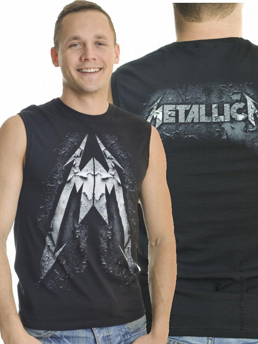 Metallica tričko bez rukávů b78d84cf45