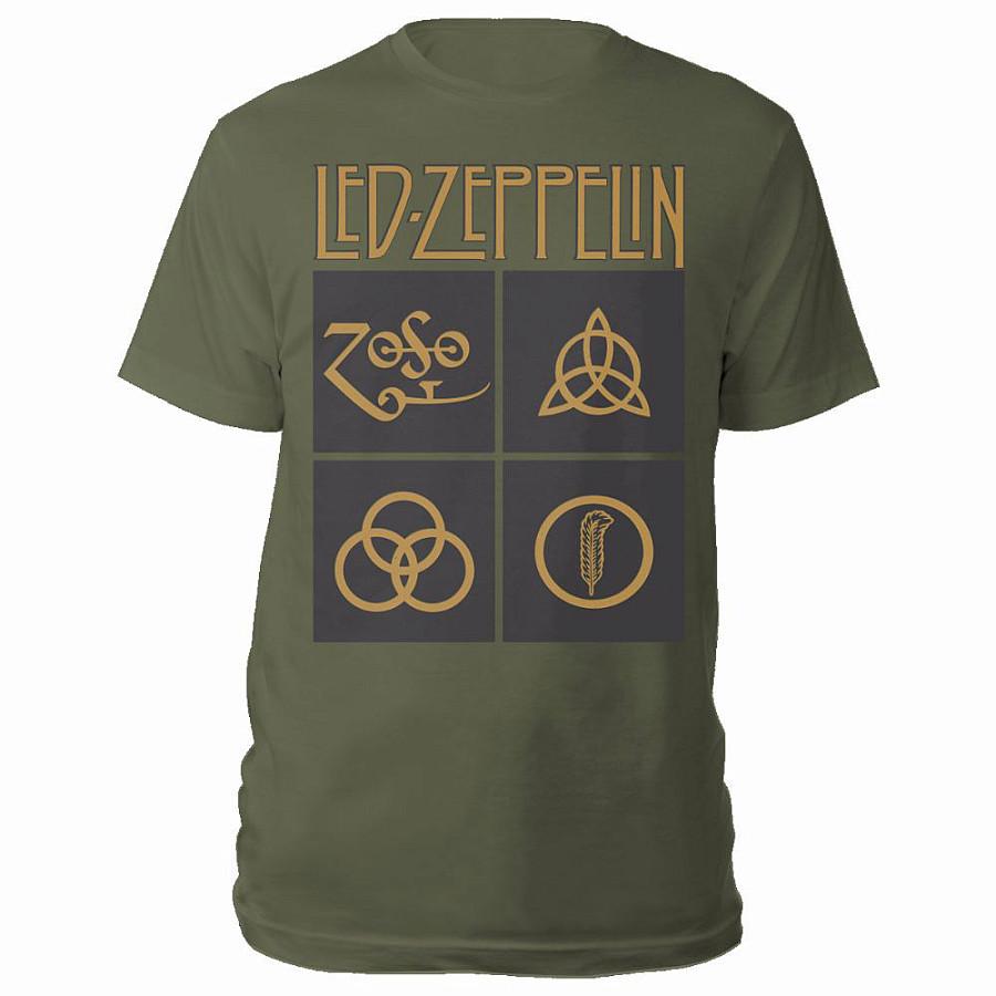 90ef01554f97 Led Zeppelin tričko