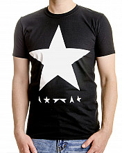 David Bowie tričko, Blackstar (White Star On Black), pánské