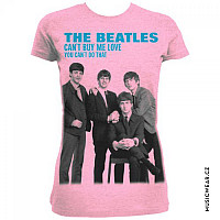 The Beatles tričko, You Can't Buy Me Love Pink, dámské