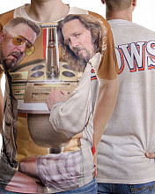 Big Lebowski tričko, The Big Lebowski Allover Printed, pánské