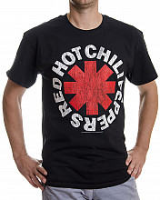 Red Hot Chili Peppers tričko, Distressed Asterisk, pánské