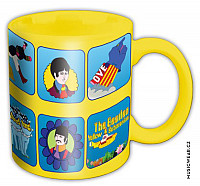 The Beatles keramický hrnek 250ml, Yellow Submarine Characters