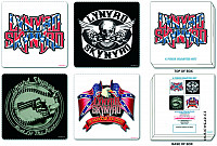 Lynyrd Skynyrd set korkových podtácků 4ks, Mixed Designs