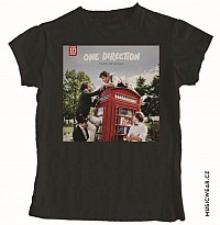 One Direction tričko, Take Me Home Black, dámské