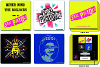 Sex Pistols set korkových podtácků 4ks, Mixed Designs