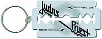 Judas Priest klíčenka, British Steel Razor Blade