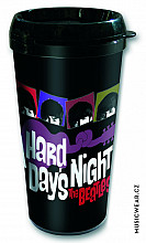 The Beatles cestovní hrnek 330ml, A Hard Days Night