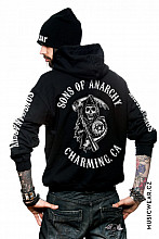 Sons of Anarchy mikina, Full CA Backprint, pánská