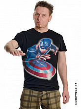 Captain America tričko, Throw Shield, pánské