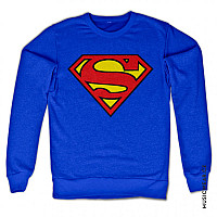 Superman mikina,  Shield Sweatshirt Blue, pánská
