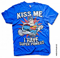 Superman tričko, Kiss Me I Have Super Powers, pánské