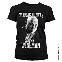 Californication tričko, Charlie Runkle Is My Wingman Girly, dámské