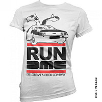 Run DMC tričko, Run De Lorean Girly, dámské