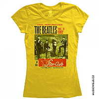 The Beatles tričko, Star Club Hamburg Yellow, dámské