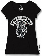 Sons of Anarchy tričko, Death Reaper Patch, dámské