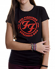 Foo Fighters tričko, Logo Red Circle, dámské