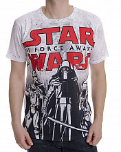 Star Wars tričko, The Force Awakens Allover Tee, pánské
