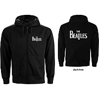 The Beatles mikina, Drop T Logo With Back Print, pánská