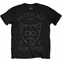 Bring Me The Horizon tričko, Hand Drawn Shield, pánské