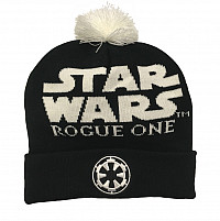 Star Wars zimní kulich, Rogue One Logo, unisex