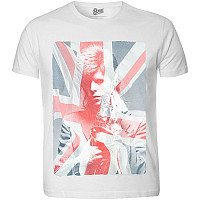 David Bowie tričko, Union Jack and Sax Sublimation, pánské