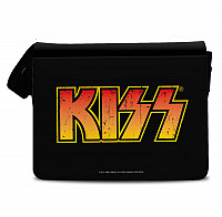 KISS messenger bag, Distressed Logo