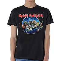 Iron Maiden tričko, Wasted Years Circle, pánské