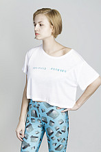 Lake Malawi Crop T-Shirt, Holidays Forever, Women