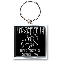 Led Zeppelin klíčenka, 1977 USA Tour