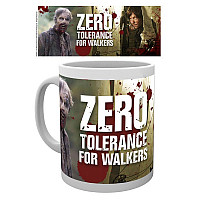 The Walking Dead keramický hrnek 250 ml, Zero Tolerance for Walkers