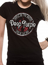 Deep Purple tričko, Fire in the Black Sky, dámské