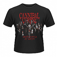 Cannibal Corpse tričko, Butchered At Birth, pánské