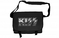 KISS messenger bag, Iron Logo