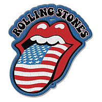 Rolling Stones nášivka, US Tongue 92x84 mm, unisex