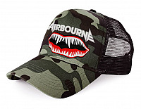 Airbourne kšiltovka, Fighter Decals Camo Trucker, uni