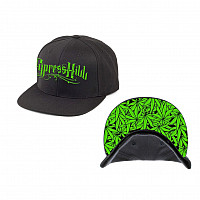 Cypress Hill kšiltovka, Pot Leaf snap back, uni