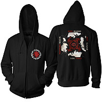 Red Hot Chili Peppers mikina, BSSM Black Zip, pánská