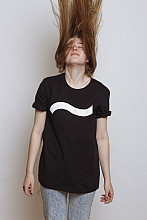 Lake Malawi T-Shirt, One Wave Black, unisex